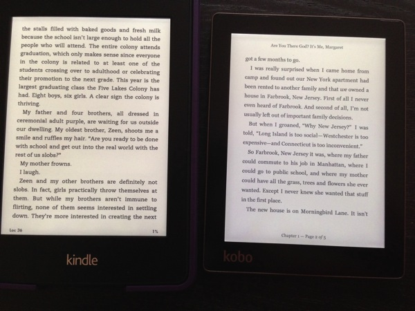 Kindle Paperwhite Second Generation – First Thoughts